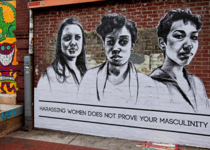 «Harceler les femmes n'est pas une preuve de ta virilité»