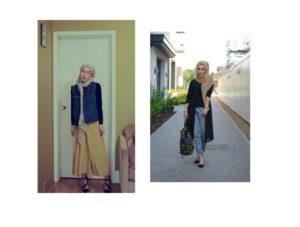 Copyrights : à droite : Dina Torkia / http://www.dinatorkia.co.uk/ ; à gauche : Hana Tajima / http://hanatajima.com/