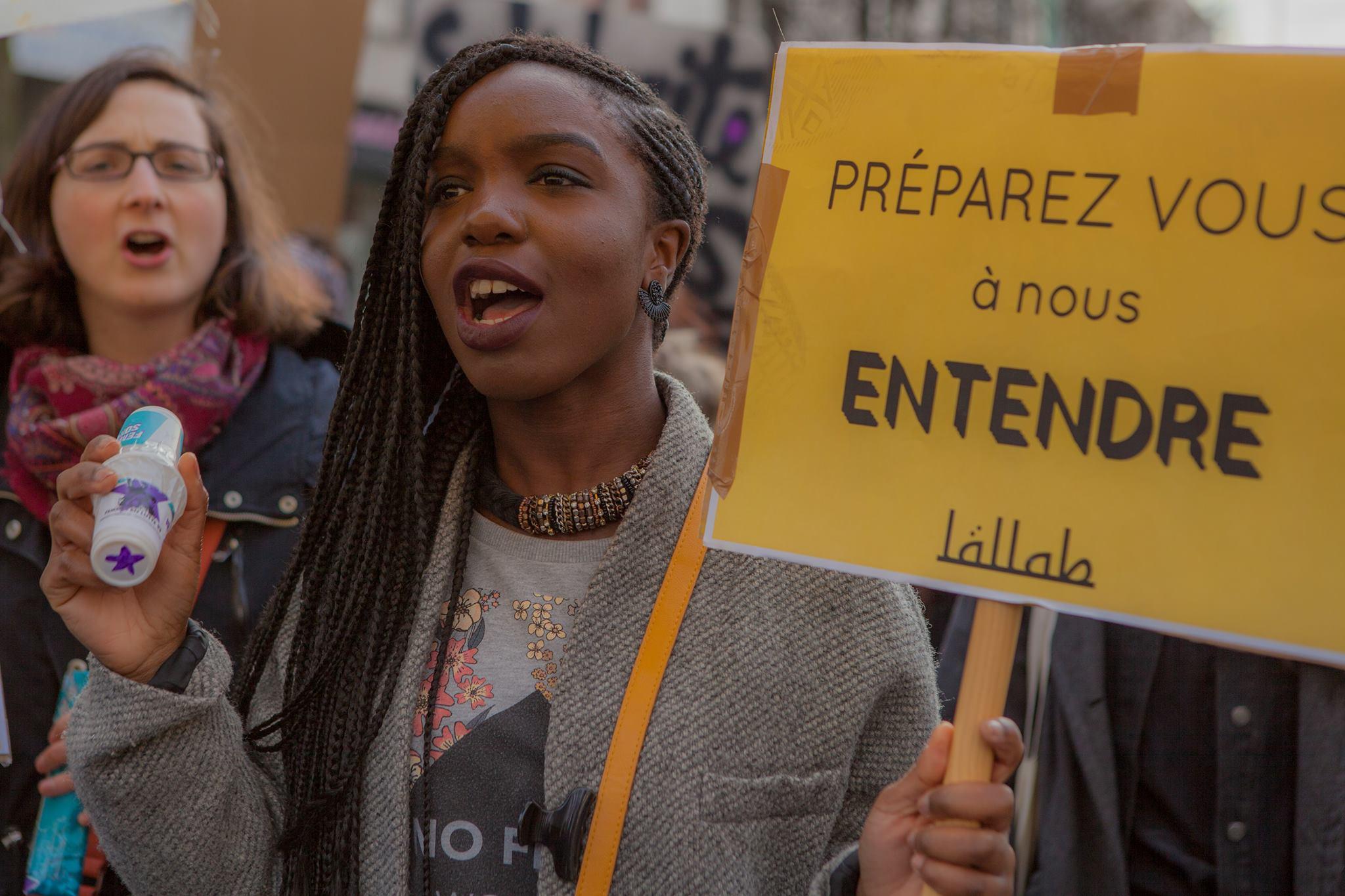 Lallab Manifestation féministe 11 mars 2