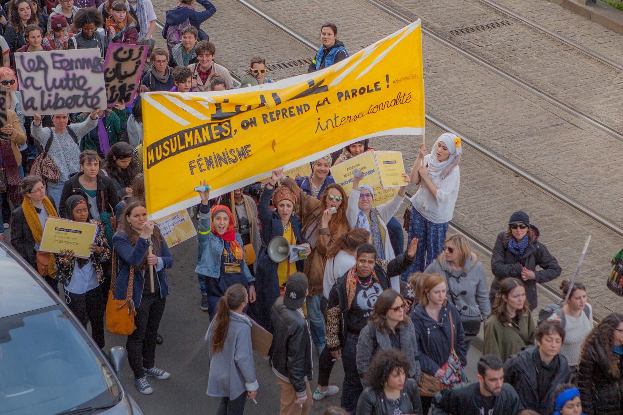 Lallab Manifestation féministe 11 mars 3