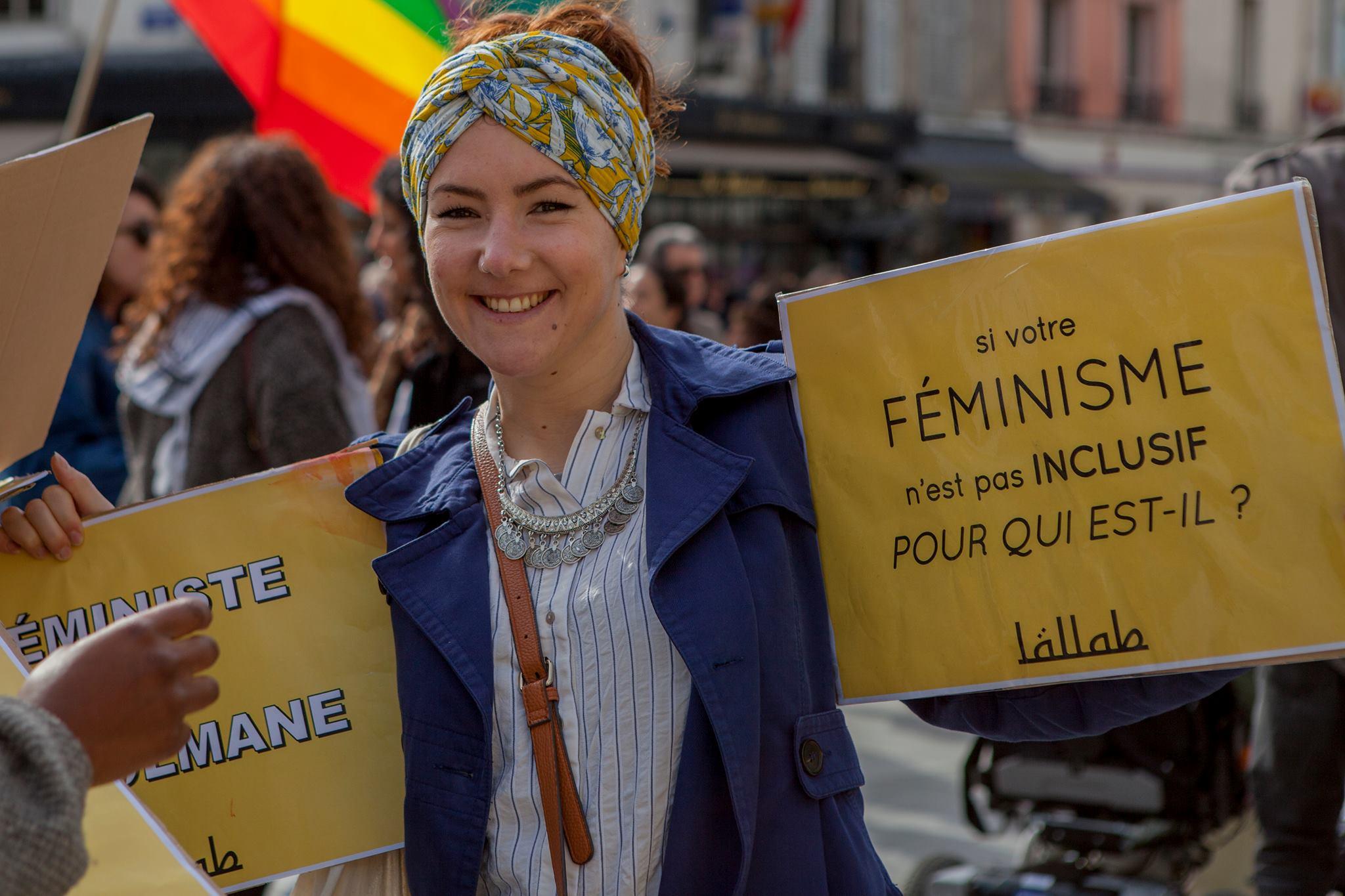 Lallab Manifestation féministe 11 mars 5