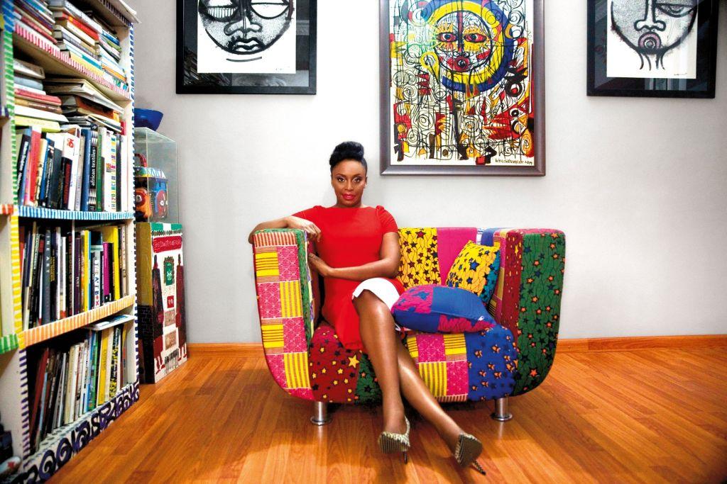 Chimamanda Ngozi Adichie by Akintunde Akinleye for Vogue UK