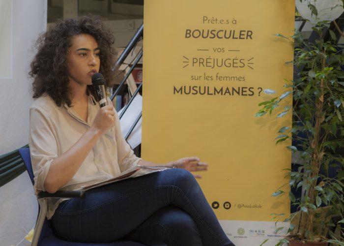 Wissale Achargui, militante contre le cyberharcèlement