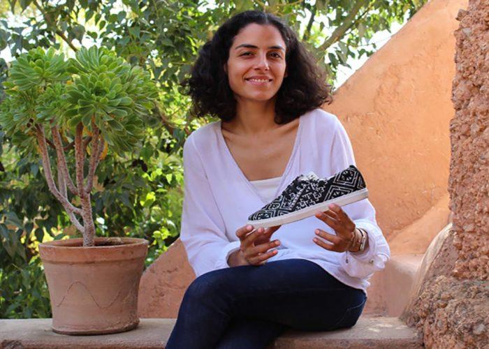 Fadela Bennani, créatrice de baskets marocaines vegan pour l'éducation des filles pauvres
