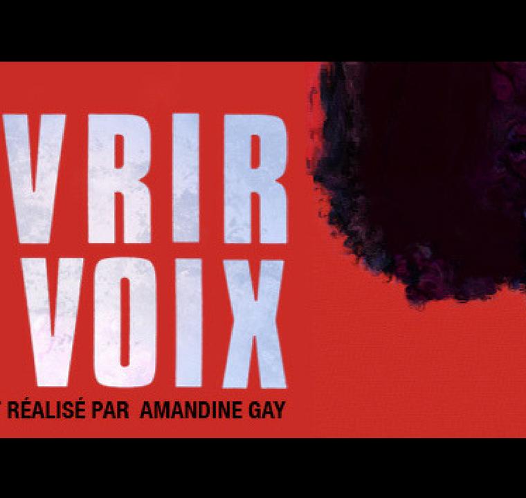 Ouvrir la voix d'Amandine Gay:  Ne nous racontez plus, on s'en charge!