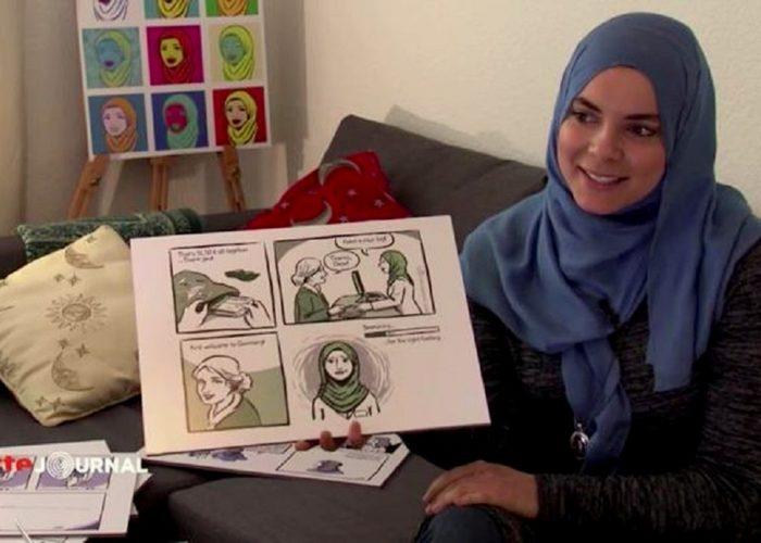 Soufeina, illustratrice musulmane de foi et européenne de culture