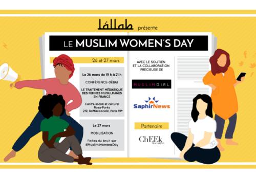 Soyez prêt·es pour le #MuslimWomensDay le 27 mars !