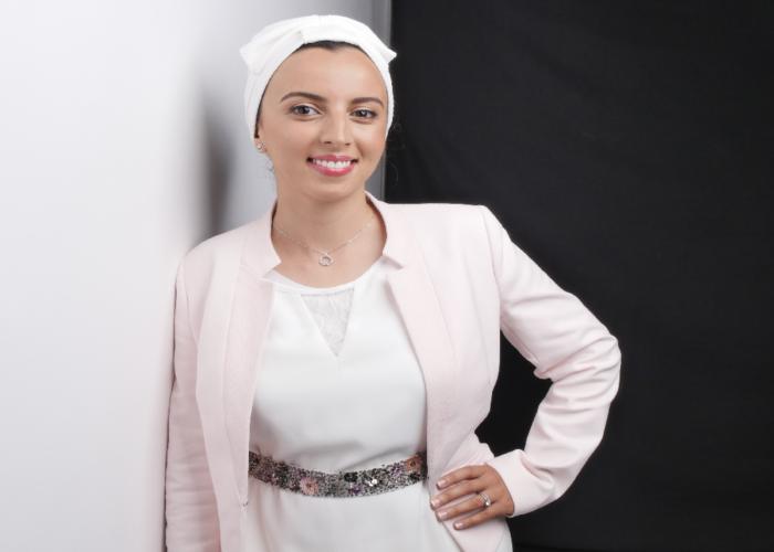 Naouale Kadiri, révélatrice d'énergies positives