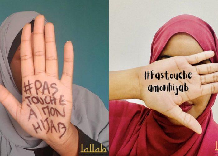 [Communiqué] #PasToucheAMonHijab et #HandsOffMyHijab : Les femmes musulmanes se mobilisent !